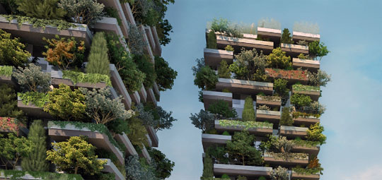 Bosco Verticale Milan Italy Minecraft Project