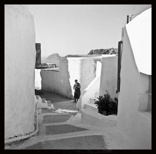 Χώρα Κυθήρων, δεκαετία 1960 (φωτογραφία Παύλος Μυλώφ)