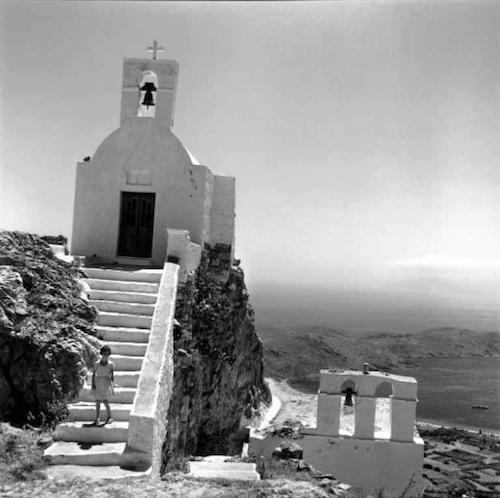 Σέριφος, εκκλησία στη Χώρα, 1962 (φωτογραφία Robert McCabe)