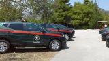 Ενίσχυση δασικών υπηρεσιών με δεκατέσσερα νέα οχήματα (φωτογραφίες)