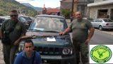 Οι συλλήψεις παράνομων κυνηγών στη Πελοπόννησο συνεχίζονται…