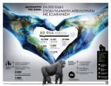 «Βαρόμετρο της ζωής» – 24.000 είδη στον πλανήτη απειλούνται μεεξαφάνιση