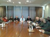 Σύσκεψη για τα αντιπλημμυρικά έργα στηΘάσο