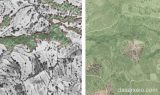 Περιοχές κηρυγμένων αναδασωτέων εκτάσεων στους αναρτημένους δασικούςχάρτες