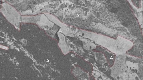 Αεροφωτογραφία 1945
