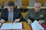 Μνημόνιο συνεργασίας ΑΠΘ και Γεωγραφικής ΥπηρεσίαςΣτρατού