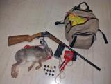 Σύλληψη λαθροθήρα, σκότωσε λαγό τη νύχτα σε περίοδοαναπαραγωγής